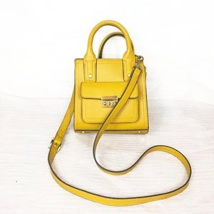 3.1 Philip Lim Target Mini Satchel Mustard Bag